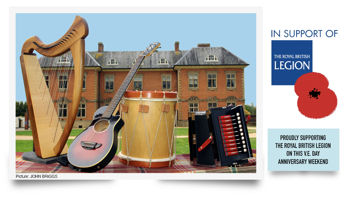 Tredegar House Folk Festival In Support of The Royal British Legion